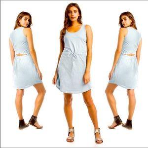 Synergy organic clothing cotton dress sleeveless